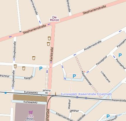 Rewe Karlsruhe Europaplatz