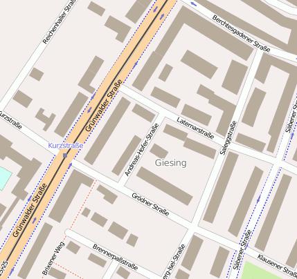 Andreas-Hofer-Str. 81547 München Untergiesing-Harlaching