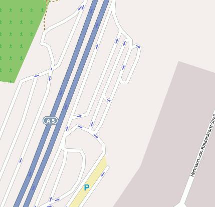 Autobahnraststätte Bruchsal