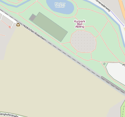 Bad Aibling Kurpark Bahnhofsanlage - 83043 Bad Aibling