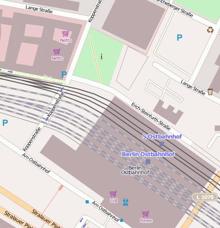 berlin ostbahnhof bahnhofsanlage 10243 berlin. Black Bedroom Furniture Sets. Home Design Ideas