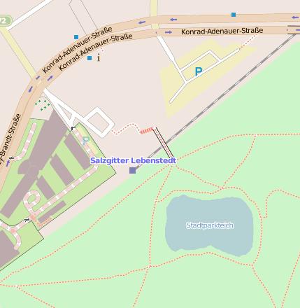 Salzgitter Lebenstedt Bahnhofsanlage 38226 Salzgitter