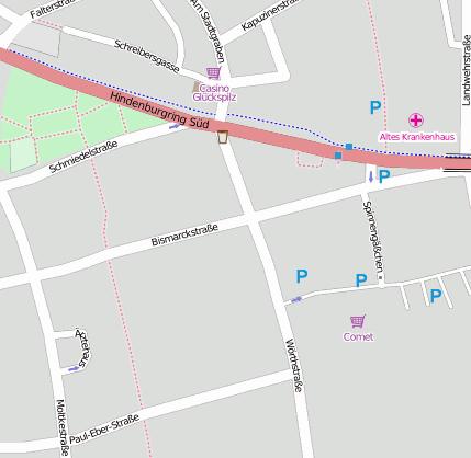 Bismarckstr. 97318 Kitzingen Kitzingen