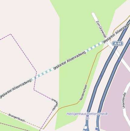 Talbrücke Grünalbeeke Brücke, Überführung, Unterführung