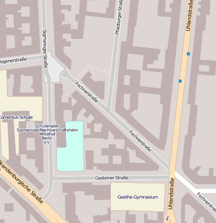 Fechnerstr 10717 Berlin Wilmersdorf