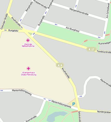 Knuthstraße Flensburg