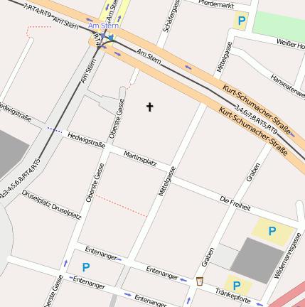 Königsgalerie Kassel Parkhaus