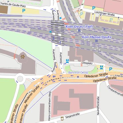 Ottoplatz Köln Deutz