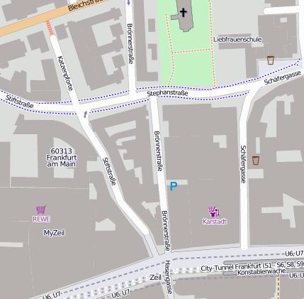 Schillerpassage Frankfurt schillerpassage 60313 frankfurt innenstadt