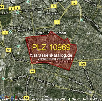 Postleitzahl 10969 Postleitzahl 10969