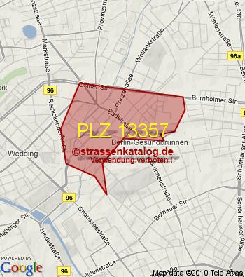 Berlin Postleitzahl