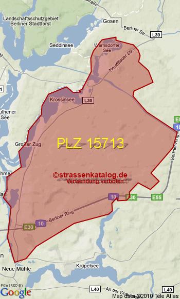 Postleitzahl Zernsdorf